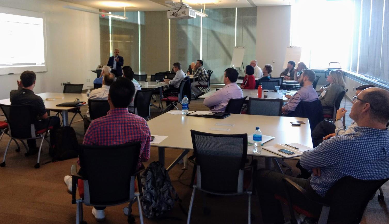 Design thinking innovation executive event