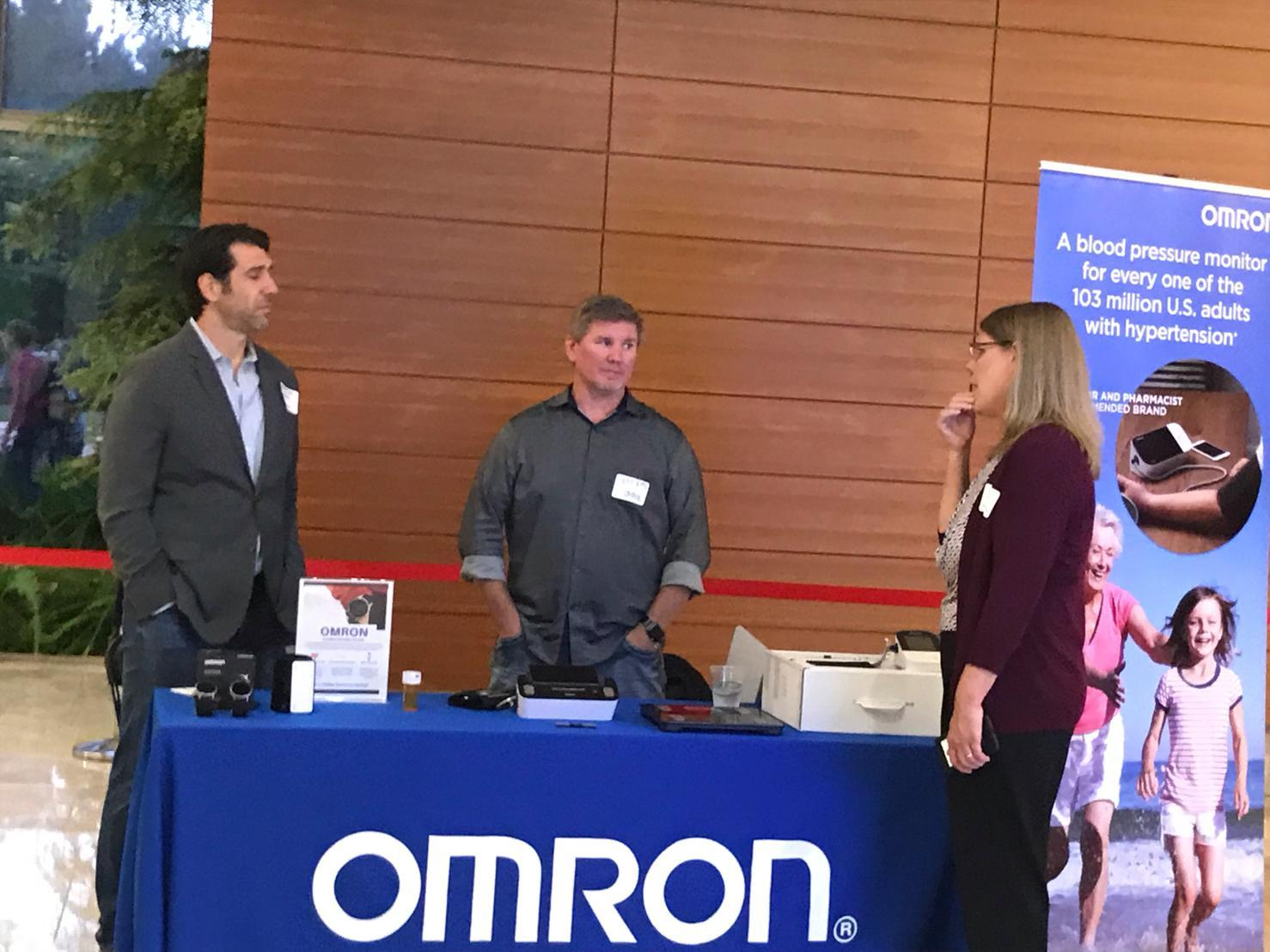 Omron healthcare innovation demo