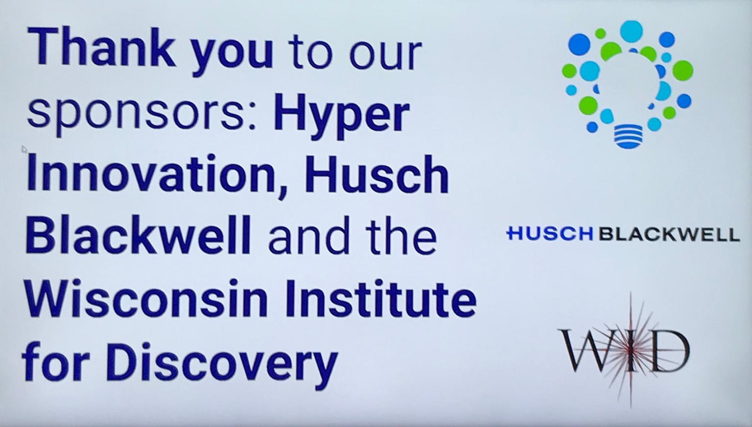 Hyper Innovation Wisconsin Institute for Discovery